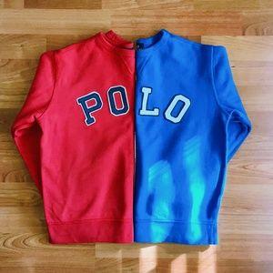 Polo By Ralph Lauren Boys Fleece Sweatshirt Bundle